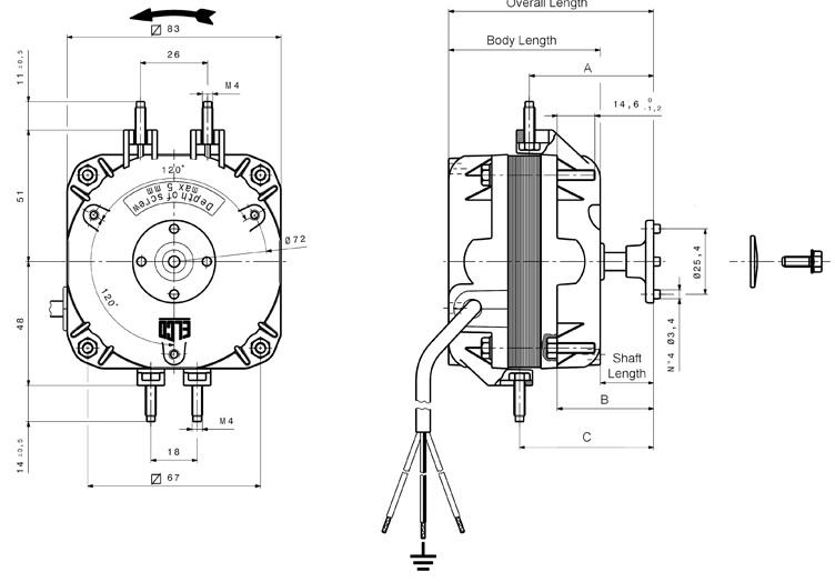 Elco ventilator motoren